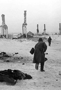 Бой в районе Сталинграда - 1942 г.