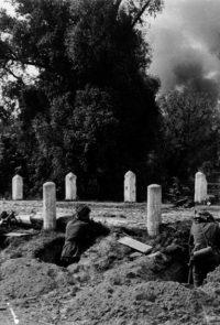 Немецкие солдаты во время боя под Брестом - Июнь 1941 г.