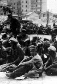 Лагерь для советских военнопленных - 1941 (Из трофейных фотографий, изъятых у пленных и убитых солдат вермахта)