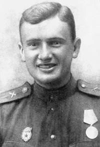 Артиллерист Е. Весник, 1940-е годы